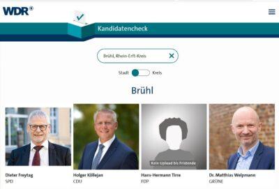 WDR-Kandidatencheck Brühl